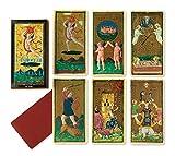 Dal Negro 42401 - Juego de Cartas de Tarot (Ilustraciones de B. Brembo y A. Cicognara) [Importado de Italia]