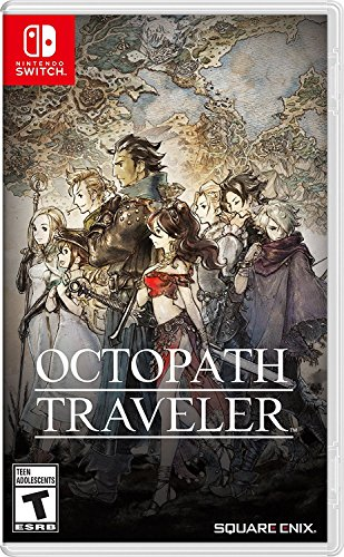 Nintendo Octopath Traveler, NSW videogioco Basic Nintendo Switch Inglese