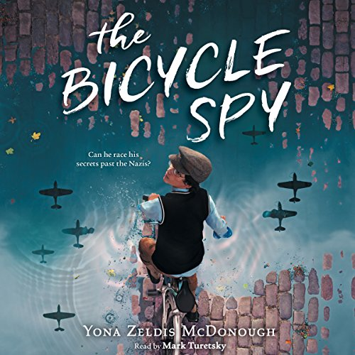 The Bicycle Spy audiobook cover art