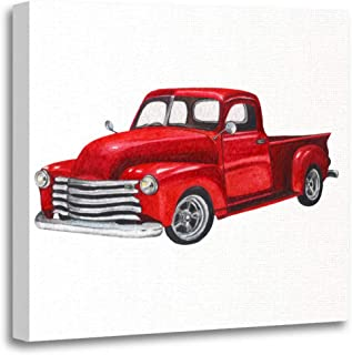 Best old truck watercolor paintings Reviews