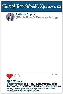 photo booth instagram frame diy