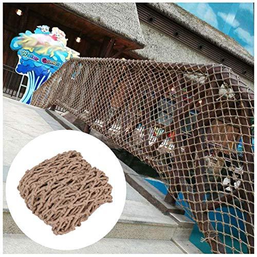 WEIFAN Red de Remolque de Carga-Red de jardín para Parche de Verduras/Barandilla de balcón Escalera Valla de Seguridad Decoración Redes de Malla/Protección Infantil al Aire Libre Escalada