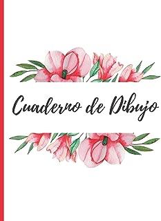 CUADERNO DE DIBUJO: BONITO CUADERNO PARA DIBUJAR.  22cm X 28cm. 100 PAGINAS EN BLANCO, GRAN TAMAÑO. LINDO REGALO,  CREATIVO Y ORIGINAL (Spanish Edition)