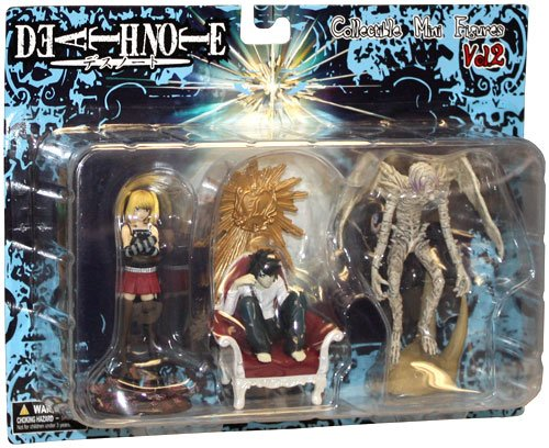 Death Note Collectible Mini Figurines 3 Lot Vol. 2