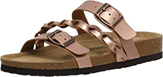Women's Cushionaire Lizzy Cork footbed Sandal with +Comfort and Wide Widths Available