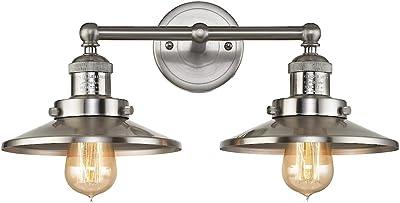 Elk Lighting 67171/2 Vanity-Lighting-fixtures, Nickel