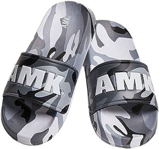 AMK Bath Slippers - Soldier Slides Grey camo - 38