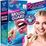 Mouth Guard for Teeth Grinding Night Clenching Bruxism Dental Guard Pack of 5 Moldable Mouthguards Sports Bite Anti Grind Sleep Guard