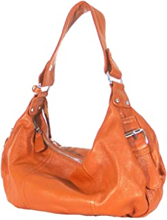 Alexis Genuine Leather Hobo Bag