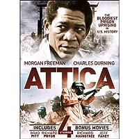 Attica With 4 Bonus Films: Hijack / Dark Side of the Sun / Black Brigade / One Down Two to Go