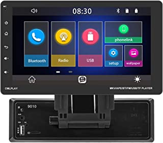 $116 » Single Din Car Stereo 9'' Touch Screen D-Play with Bluetooth Car Multimedia Player FM Radio Receiver with TF/USB Support S...