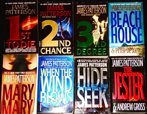 8 Titles By James Patterson: