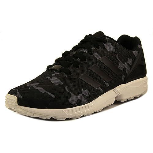 cheaper 757d2 4eb4e adidas Zx Flux Men s Running Shoes Size US 10, Regular Width, Color Black