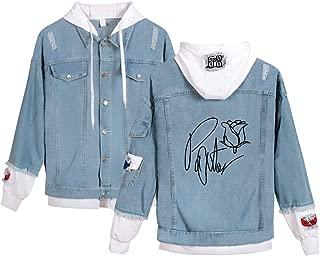 Landove Payton Moormeier Hoodie Unisex Demin Jeans Jacket A31117NZ01