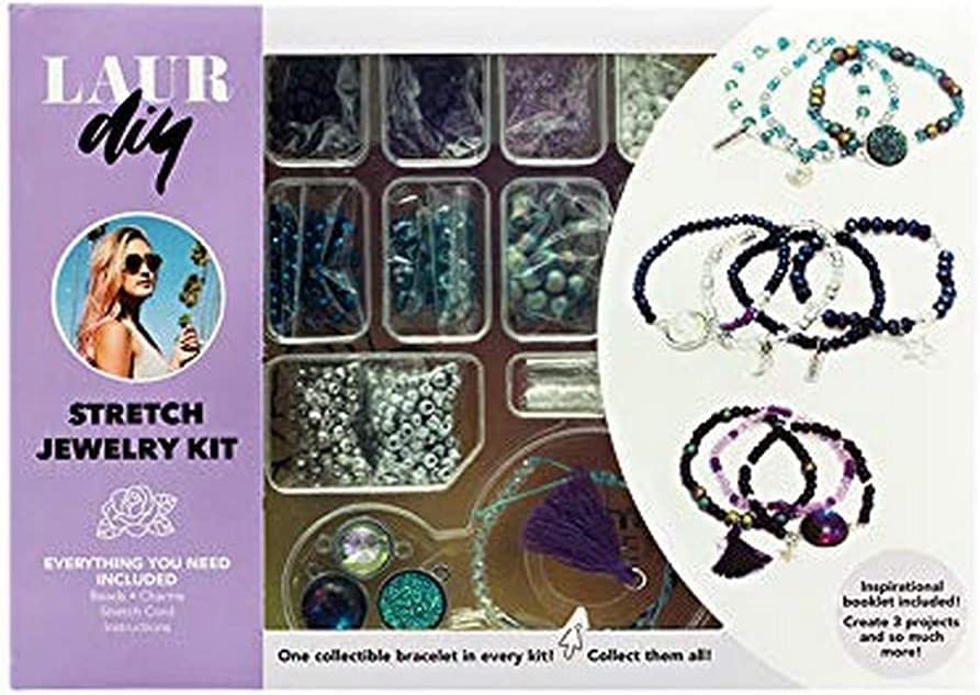 LaurDIY Stretch Philadelphia Mall Jewelry LARGE KIT Our shop OFFers the best service DIY Multicolor