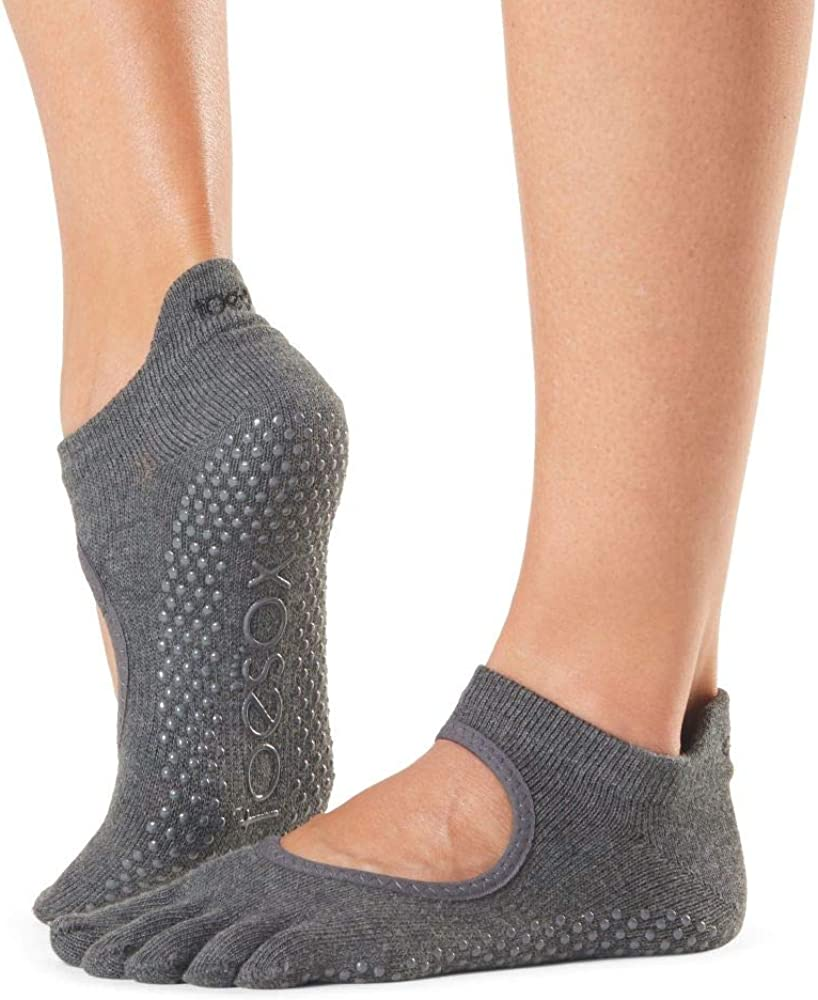 ToeSox Manufacturer OFFicial shop Women's Bellarina Full Toe for Non-Slip Grip Ballet Direct store Yoga