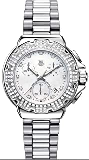 Women's CAC1310.BA0852 Formula 1 Diamond Accented Chronograph Watch