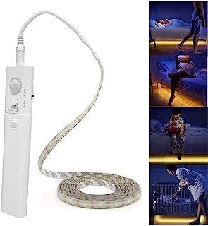 Led Strip Lights Battery Powered,Motion Sensor Led Light Strips Smart Night Light Motion Activated Night Light Led Strip L...