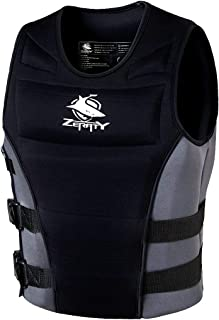 Life Jacket Adult Impact Vest for Outdoor Floating Swimming Ski|CE Proof 50N