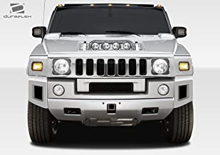 Duraflex Replacement for 2003-2009 Hummer H2 BR-N Front Add On Bumper Extensions - 2 Piece