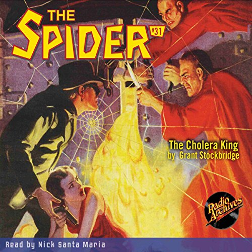 Spider #31 April 1936 audiobook cover art
