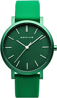 BERING Unisex Analogue Quartz Watch with Silicone Strap 16934-899