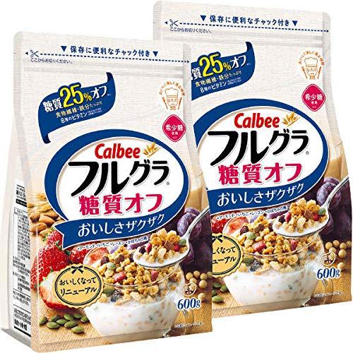 Low Sugar Calbee Fruit Cereal 2 Pack