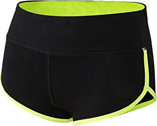 TYUIO Workout Shorts for Women Hot Yoga Running Dolphin Athletic Gym Short Pant