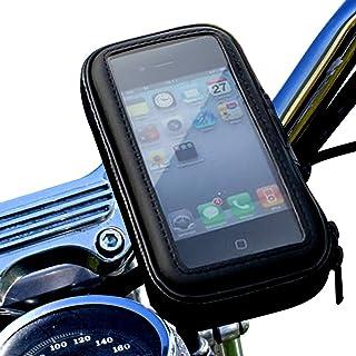 松平商会 バイク スマホホルダー 防水 落下防止 スマホケース 全機種対応 インチバー ミリバー 対応 L