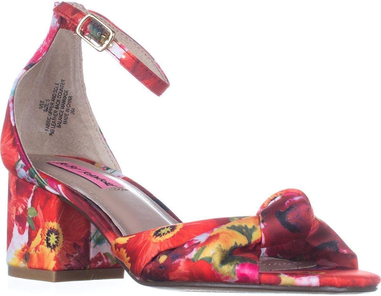 Betsey Johnson Ivee Block-Heel Sandals