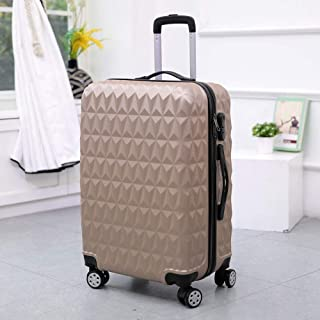 Suitcase Trolley case Universal Wheel Four-Wheel Rotating Adult Hard-Shell Password Box Gold 28 inch