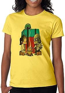 Gamer Fan Cooking Chicken Dinner Funny Custom Made Women's T-Shirt