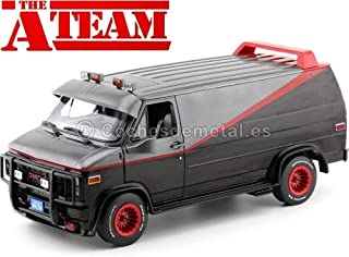 Greenlight 1983 GMC Vandura Cargo Van A-Team Equipo-A 1:18 13521