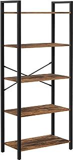 VASAGLE 5-Tier Bookshelf, Home Office Bookcase, Storage...