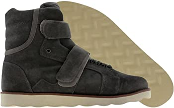 Android Homme AH Mens Suede Sneakers Propulsion Boot Grey