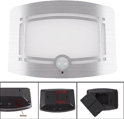 Motion Sensor LED Night Light, Wireless Battery Powered Wall ...
