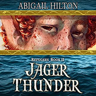 Jager Thunder: A Story of Black Powder and Panamindorah: Refugees, Volume 2 audiobook cover art
