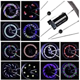 LeBoLike Bike Wheel Lights Colorful and Bright LED Bicycle Spoke Lights for Boys & Adults Bike Wheels Decorations