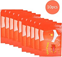 10 Piece Slimming Patch Patch Belly All Natural Ultimate Body Wrap for Shaping Waist Abdomen and Buttocks