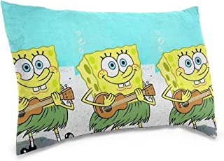 Meirdre Pillow Cases Spongebob Squarepants Guitar Standard Tthrow Pillow Covers Cushion Cover 16