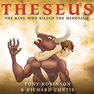 Theseus: The King Who Killed the Minotaur cover art