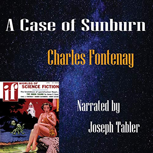 A Case of Sunburn  By  cover art