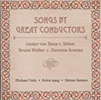Songs By Great Conductors (2013-08-05)