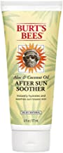 Burt's Bees Aloe & Coconut Oil After Sun Soother 6 Fluid Ounces (Pack of 2)