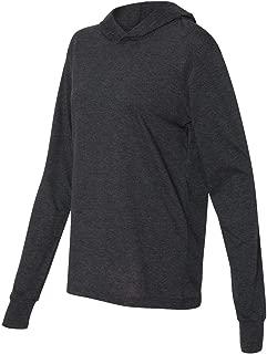Bella + Canvas Jersey Long-Sleeve Hoodie (3512)