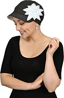 Chemo Hats for Women Cancer Headwear Headcoverings Soft Cotton Cute Baseball Caps