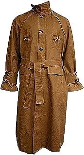 Zibco Fashion Deckard Brown Cotton Trench Coat Costume