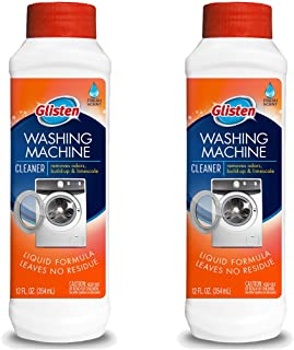 Glisten WM03N-SS. Washer Magic Washing Machine Cleaner & Deodorizer, 2 Pack, 24 Fl Oz
