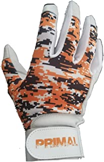 Signature Baseball Batting Gloves Black/Orange Camo