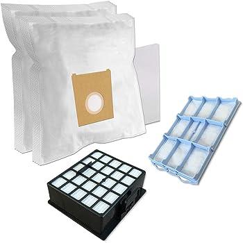 Spares2go bolsas de polvo y Micro Kit de filtro HEPA para Bosch BSG6 GL-30 BSGL3 BSGL4 GL-40 serie aspiradora (unidades 4 bolsas y 3 filtros): Amazon.es: Hogar